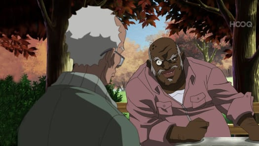 boondocks granddads fight